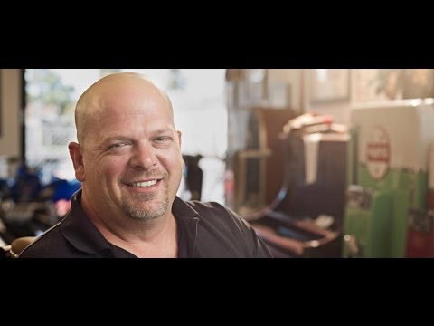 Im rick harrison and this is my pawn shop vine