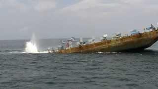 Sinking of the Joe Patti Memorial Barge