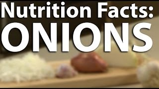 Nutrition Facts - Onions