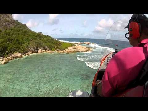 Anse Source D'Argent by Gyrocopter - Seychelles
