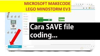 Lego Makecode Microsoft : SAVE!!!