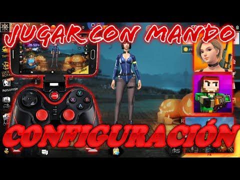 Como JUGAR CON MANDO FREE FIRE, CREATIVE DESTRUCIÓN, PIXEL GUN 3D U Otros Juegos