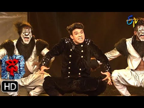 Pradeep Performance   Dhee 10   Grand Finale   18th July 2018   ETV Telugu