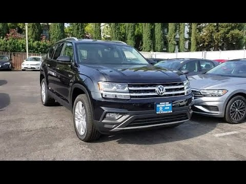 2019 Volkswagen ATLAS 3.6L V6 SE w/Technology San Jose Sunnyvale Hayward Redwood City Cupertino