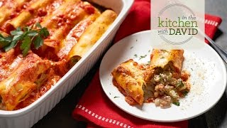 How to Make Cheesy Veggie Manicotti
