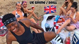 CANADIANS REACTION TO UK RAP GRIME/DRILL