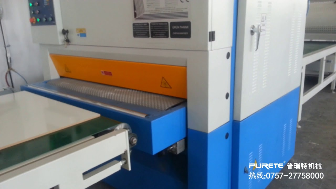 high gloss uv coating line for melamine board and mdf board