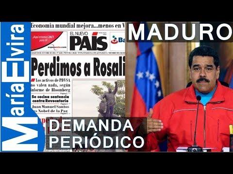 """Maduro Ordena Demandar A Periódico """"dirigido Desde Miami"""""""