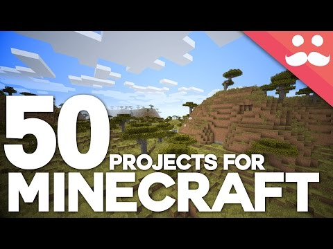 50 Projects For Your Minecraft Worlds in Under 4 Minutes!
