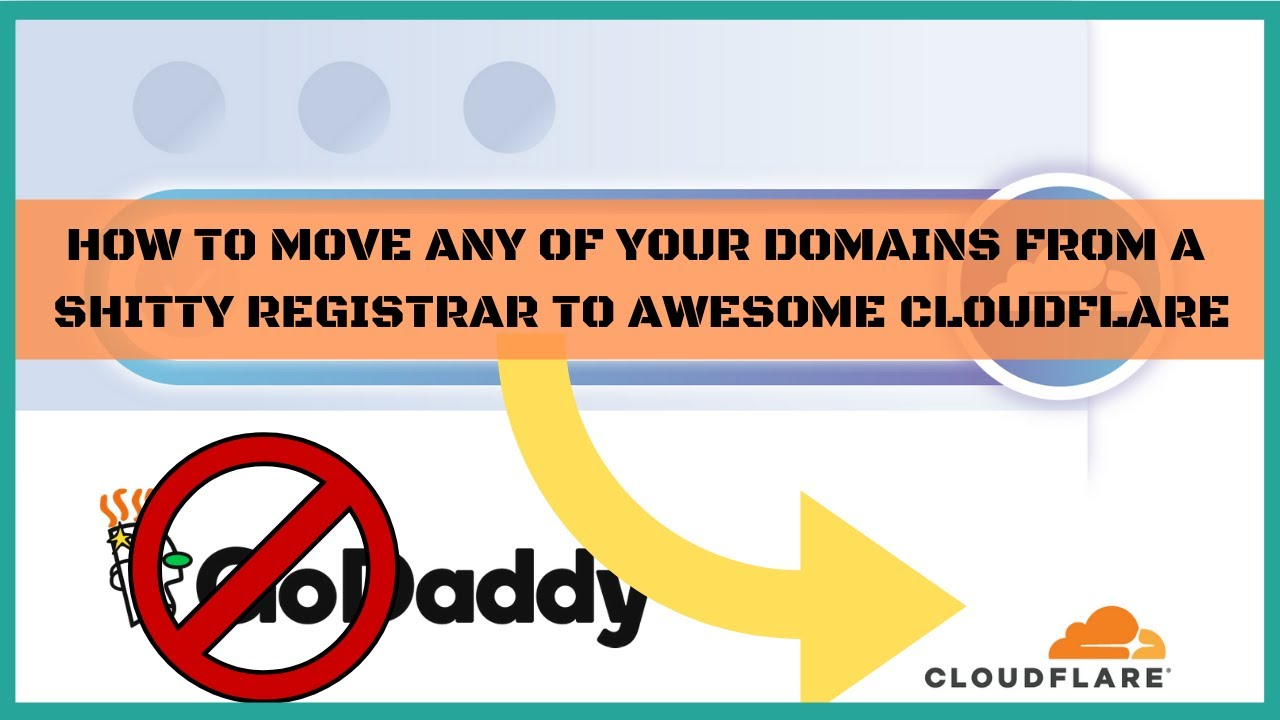 How To Transfer Your Domains To Cloudflare Registrar And Have Free WhoIs