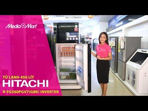 Tủ lạnh Hitachi R-FG560PGV7(GBK) – Quạt kép, làm lạnh thông minh