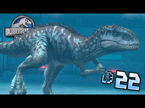 Land Vs Aquatic!! || Jurassic World - Lagoon Series - Ep 22 HD