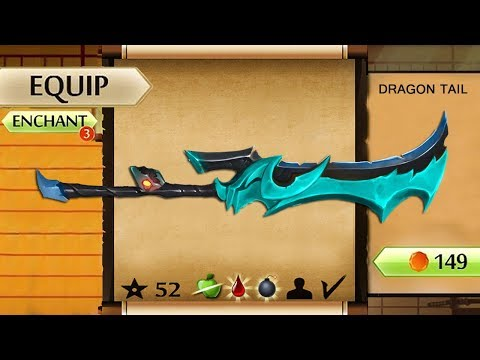 Shadow Fight 2 The Most Powerful Giant Dragon Tail Sword