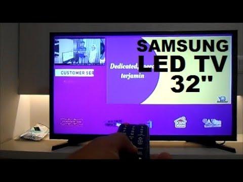 UNBOXING SAMSUNG LED TV 32