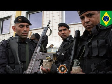 Elite military police unit BOPE to protect Rio de Janeiro in World Cup 2014