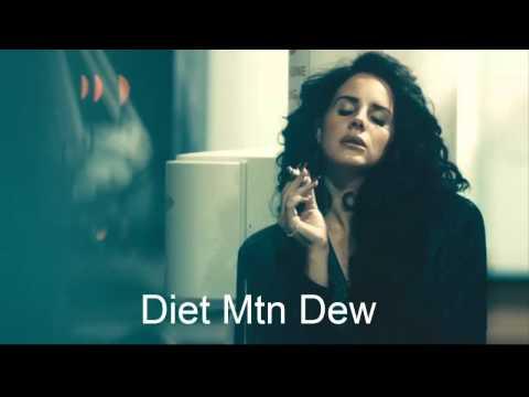 Lana Del Rey - Diet Mountain Dew  (Official Video)