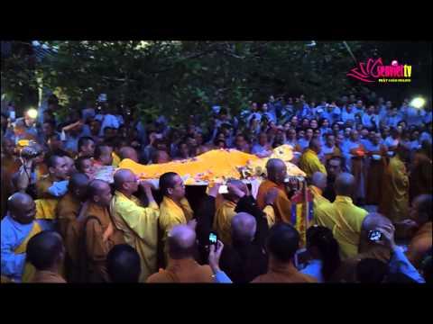 Lễ tang HT Thích Trí Tịnh - Lễ nhập Kim quan