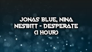 Download Jonas Blue, Nina Nesbitt - Desperate (1 hour) Mp3