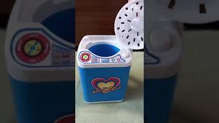 세탁기 +바가지=탈수기