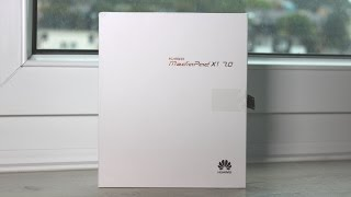 Huawei MediaPad X1 7.0 Unboxing & First Look