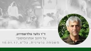 """ד""""ר גלעד גולדשמידט על חינוך אנתרופוסופי אלטרנטיבי, משפחה גרעינית, גל""""צ 10.01.17"""