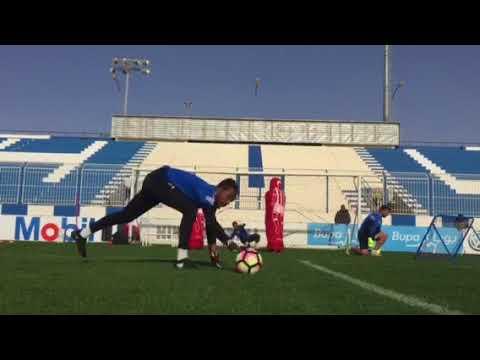 Olympic team goalkeeper training Club Al Hilal