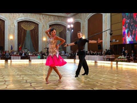 Semen Khrzhanovskiy - Elizaveta Lykhina RUS | WDSF World Open Latin - Cha-Cha-Cha