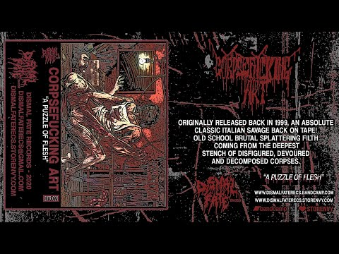 CORPSEFUCKING ART - A Corpse In The Backyard (2020 Dismal Fate Records)