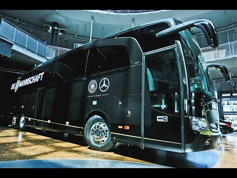 Mercedes Travego M für DFB-Elf - Jogis neuer Kicker-Bus
