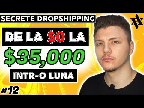 De La $0 La $35 000 Intr-o Luna | Dropshipping Romania [CURS 2020 #12]