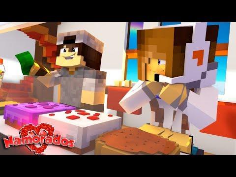 Minecraft: NAMORADOS #1 - AMOR A PRIMEIRA...