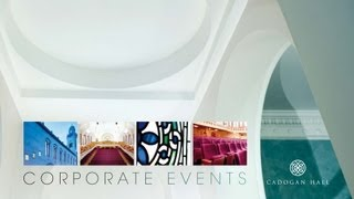 Cadogan Hall - Venue Hire and Corporate Events