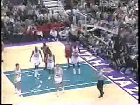 Bulls Vs Jazz 1998 Finals - Game 1 - Michael Jordan 33 Points