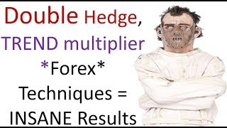 Insane automated Forex Trading results by Double hedging & using Grid trend multiplier concepts