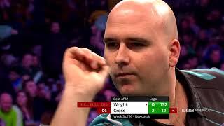 NEWCASTLE P. Wright v R. Cross: Full Match | Thursday Night Darts | 10/9c on BBC America