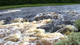 рыбалка на реке катанга