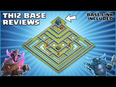 *LETHAL* TH12 WAR BASE (WITH LINK) - Best Town Hall 12 War Base - Clash Of Clans - #74