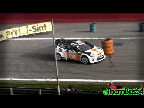 WRC Cars Sounds - Monza Rally Show 2012