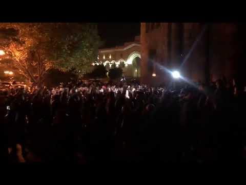 Протесты в Ереване 10 ноября