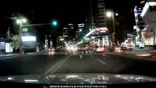에어포인트  GPASS  AP1000  야간주행영상5