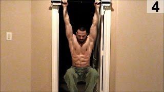 Core   Leg Raises- Door frame pull up bar pt 2