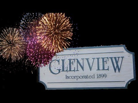 Glenview,illinois 4th Of july Fireworks 2017 from the post o