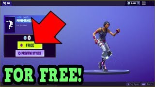 HOW TO GET PUMPERNICKEL EMOTE FOR FREE! (Fortnite Old Emotes)