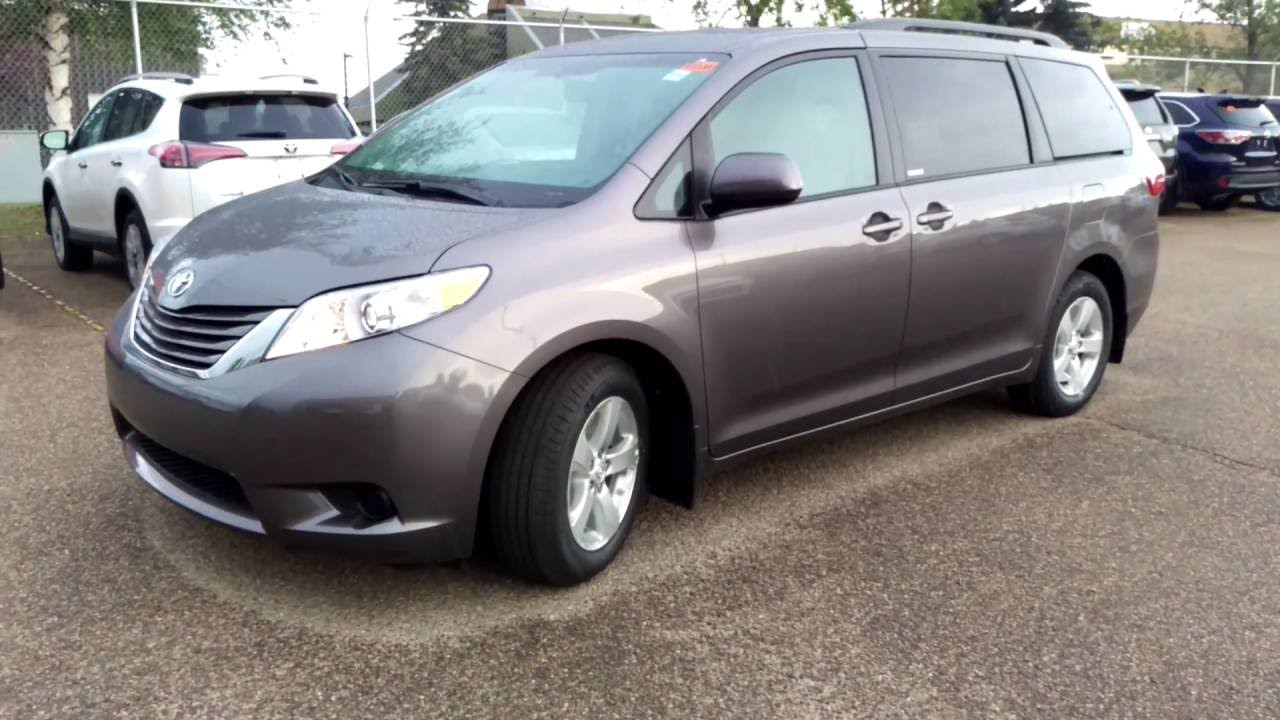 2016 toyota sienna le v6 8 passenger fwd youtube. Black Bedroom Furniture Sets. Home Design Ideas