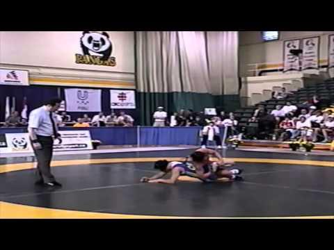 2002 World University Championships: 63 kg Stephanie Gross (GER) vs. Viola Yanik (CAN)