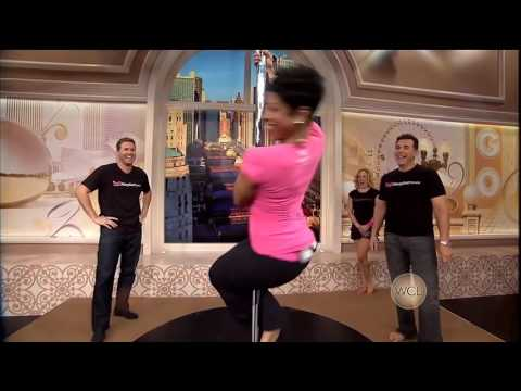 Val Warner Working The Pole! Windy City Live