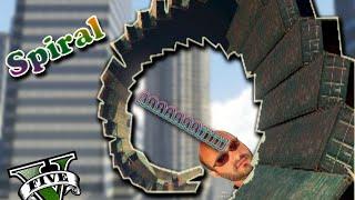 Gta 5 Online: Spiral no Xbox360 !! - Corrida INSANAS #4