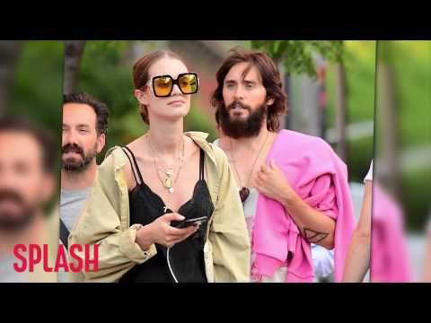 Jared Leto Steps Out Looking Like This in New York City | Splash News TV