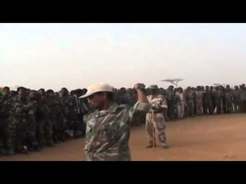 New video of Oromo liberation Front army 2015