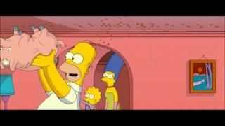 Симпсоны в кино свин паук